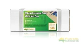 Weed Mat Pins Qty 300 for Retaining Erosion Control Blankets