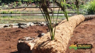 coir log, ecolog, coir fibre roll, coir fibre log