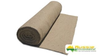 Jute Matting Blanket slitted