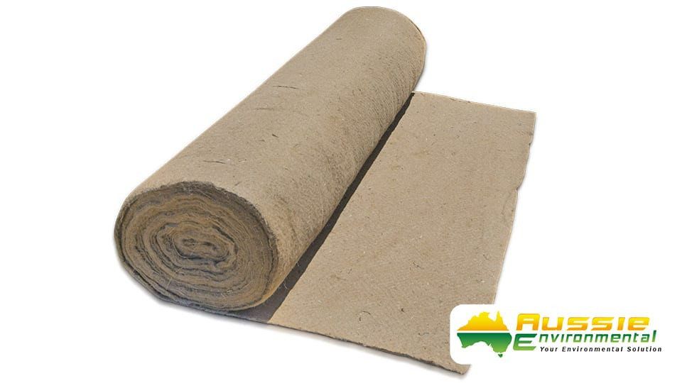 Jute Mat Pre Slitted Biodegradable Weed Matting For