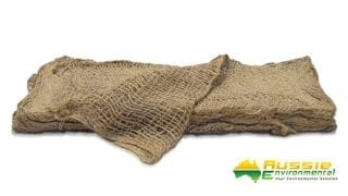 Jute Mesh Soil Saver brick for erosion control