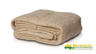 Jute mat biodegradable weed mat