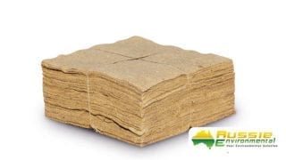 Jute Mat Squares for Weed Suppression