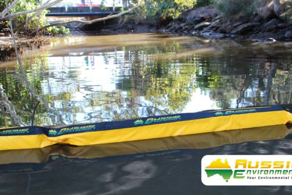 Silt Curtain Installation from Aussie Environmental