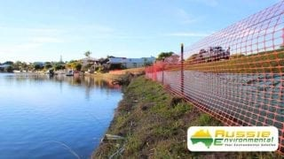 Silt Safety Barrier Fence