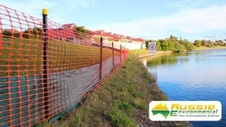 Silt Sediment Safety Barrier Fence 2 1