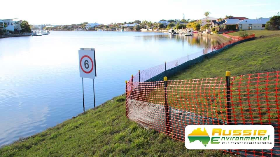 Silt Sediment Safety Barrier Fence 1