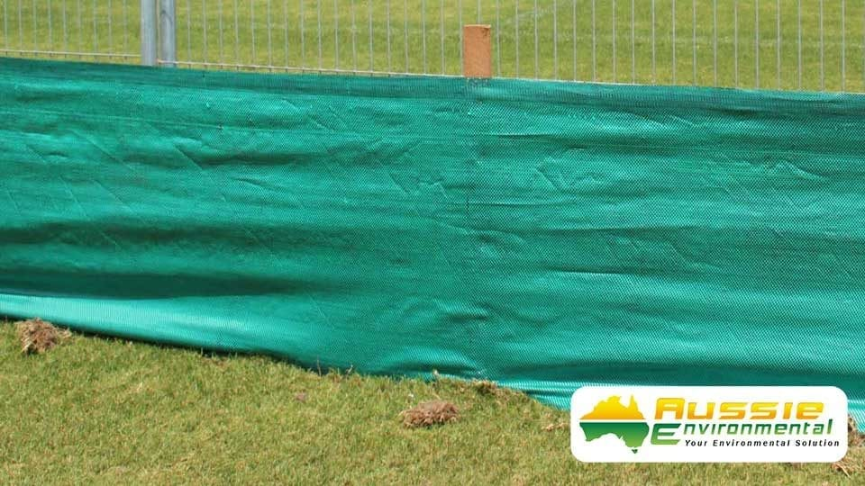Silt Fence Green