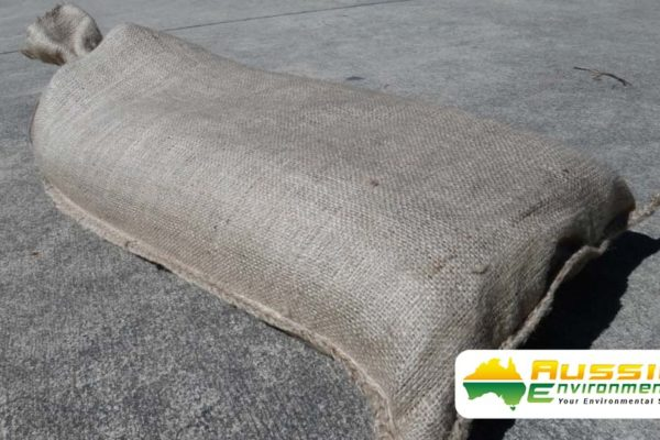 Hessian Sandbag Products From Aussie Environmental