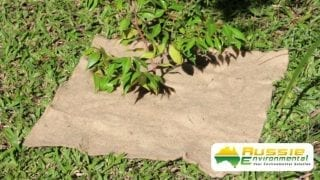 Jute Mat Square Large for Weed Suppression