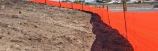 Silt Fence Installation