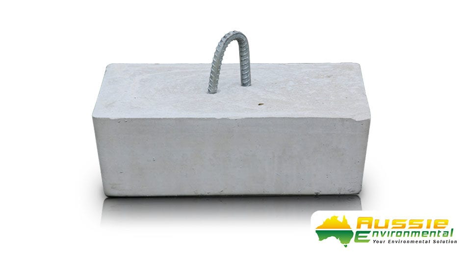 Concrete Anchors / Weights for Marine Booms