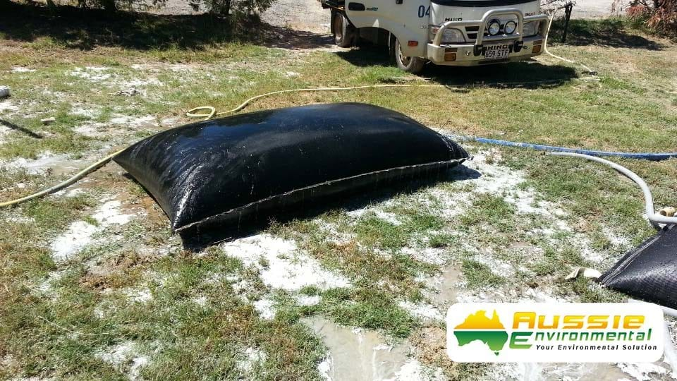 Dewatering Bags, Geobags Products from Aussie Environmental