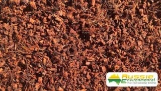 Coir Chip, Coco Mulch Close Up Shot