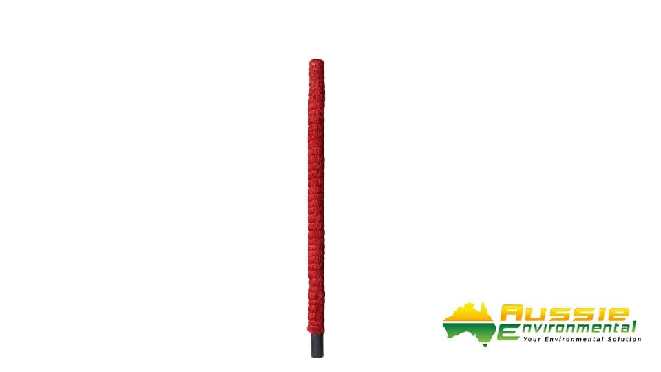 Plant Totems 120 x 7cm Red Grow Pole
