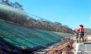 hydroseeding bank application from Aussie Environmental