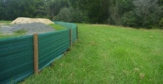 Green Silt Fence