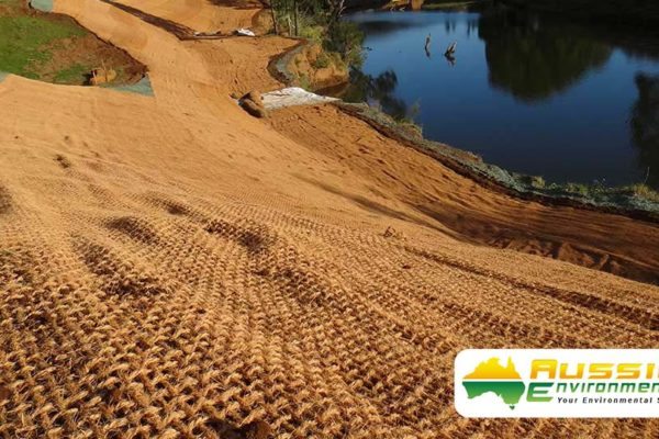 Coconut Coir Mesh With Hydromulching For Erosion Control