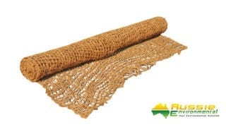 Coir Mesh Roll 400gsm for erosion control