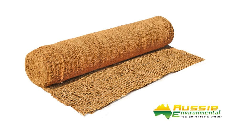 Coir Mesh for bank stabilisation