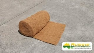 Coir Blanket for Erosion Control 1x10m