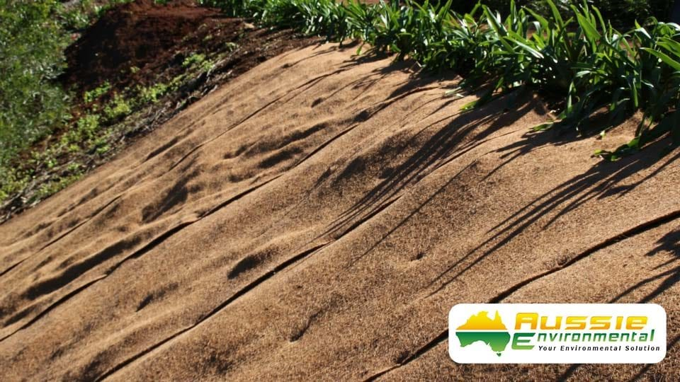 Coir Blanket Installation From Aussie Environmental