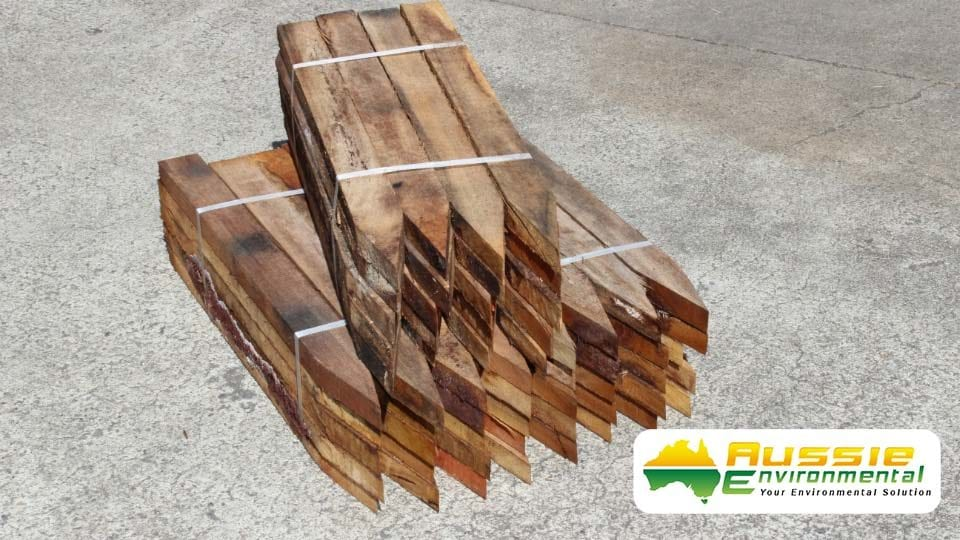 Hardwood Timber Stakes / Pegs 600mm x 50mm x 25mm For Civil Construction