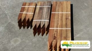 Hardwood Timber Stakes Various Sizes For Civil Construction Sites