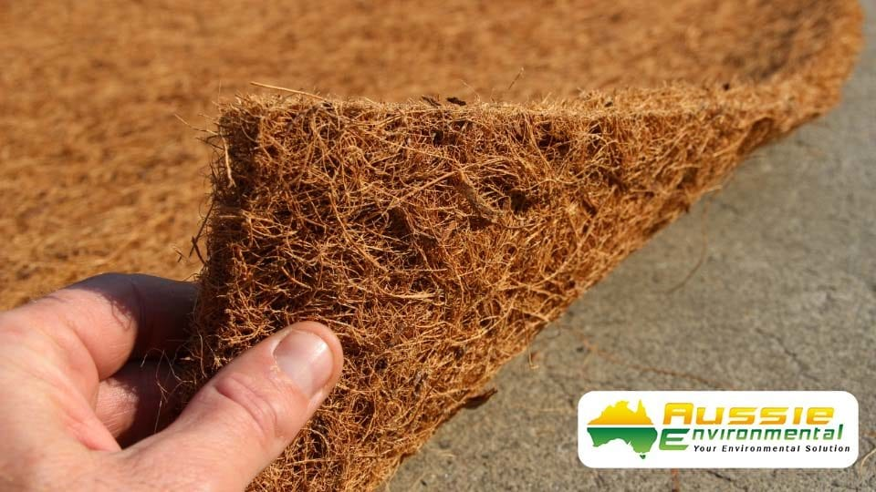 Erosion Control Blanket Product Coir Blanket 1000gsm Latex Sprayed