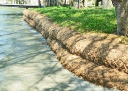 Coir log use 3 2
