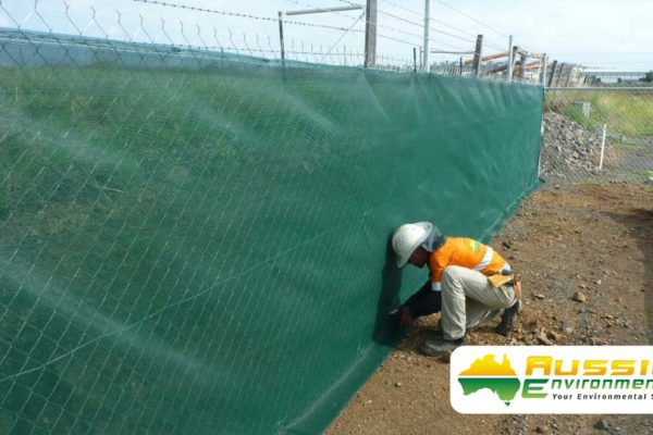 aussie erosion dust fence installation silt safety combination 2 1