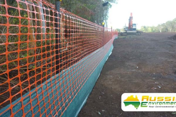 aussie erosion dust fence installation silt safety combination 4 1