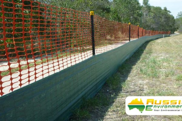 aussie erosion dust fence installation silt safety combination 7 1
