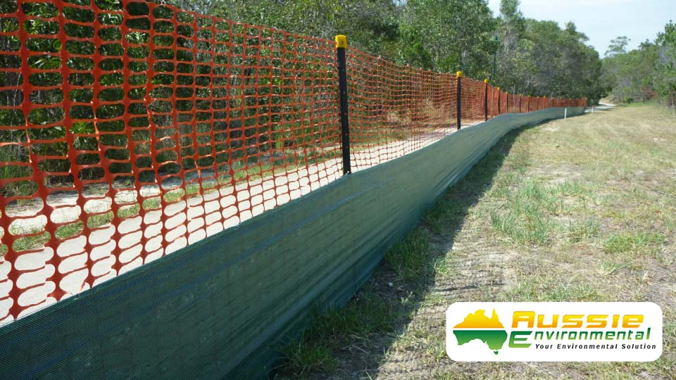 Safety Barriers And Dust Fencing Gallery Aussie