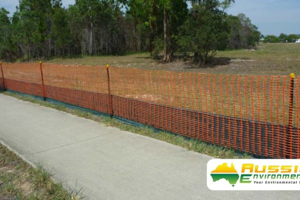 aussie erosion dust fence installation silt safety combination 8 1