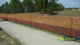 aussie erosion dust fence installation silt safety combination 8