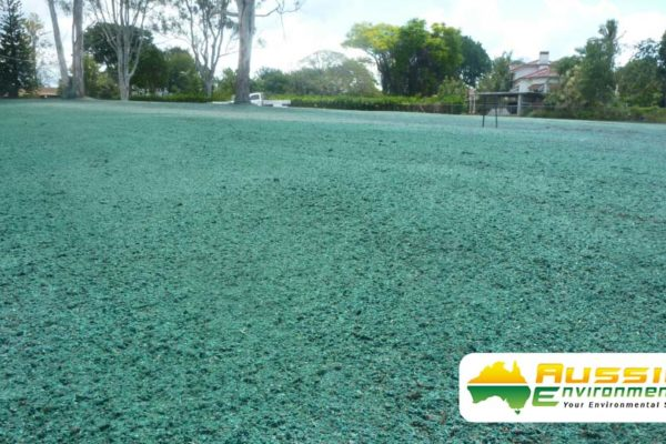 Hydromulch, Hydroseeding Brisbane Subdivision Application From Aussie Environmental