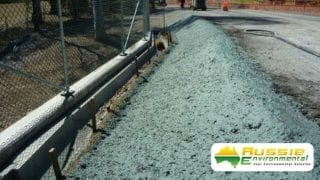 Hydromulching Road Bank Application From Aussie Environmental