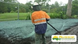 Hydromulching / Spray Grass Application From Aussie Environmental