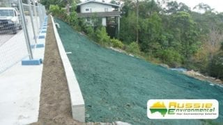 Hydromulching / Hydroseeding Application on Bank Side For Erosion Control From Aussie Environmental