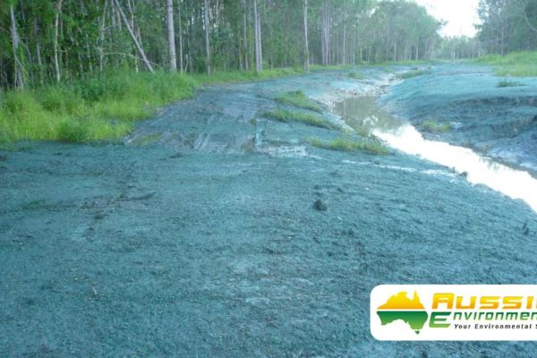 Hydromulching Application After Rain From Aussie Environmental