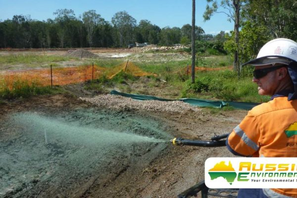 Hydromulching / Hydroseeding Application Brisbane From Aussie Environmental