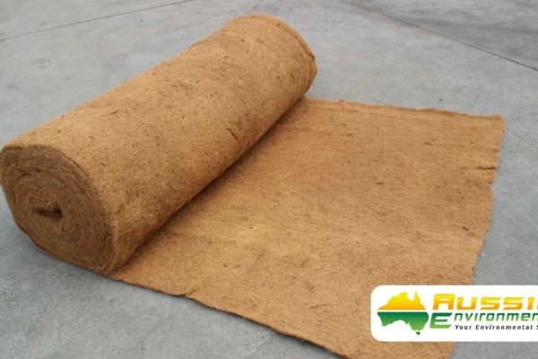 Coir Blanket 1000gsm, Erosion Control Blanket 100% Biodegradable From Aussie Environmental