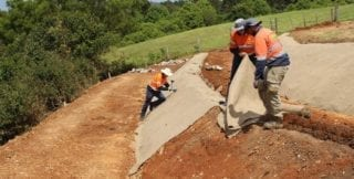 Erosion Control Blanket Installation From Aussie Environmental small