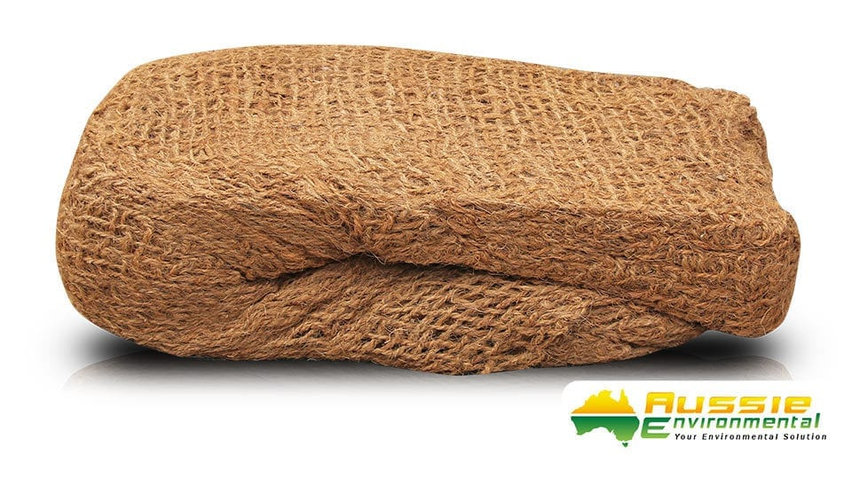 Coir Mesh Brick 700gsm for erosion control