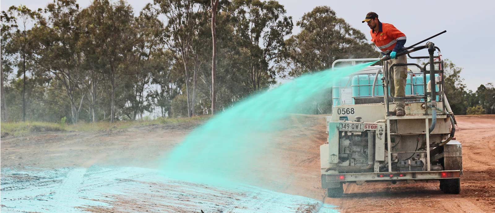 Dust Suppression Spray