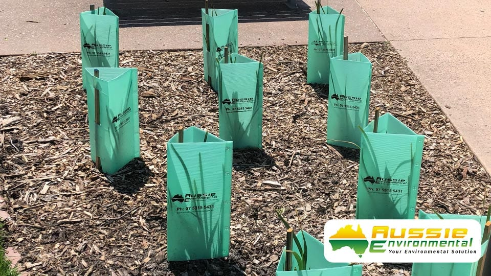 Tree Guards 450mm Landscaping Revegetation Aussie