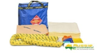 Universal Spill Kit Contents with bag