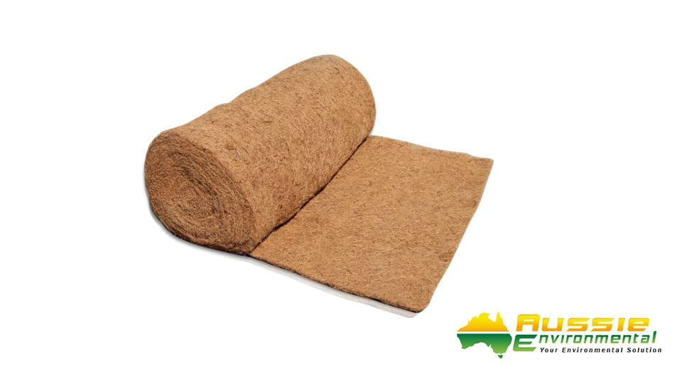 Coir Blanket 1m x 10m for Erosion Control