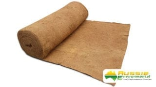 Coir Blanket for Erosion Control 2x20m